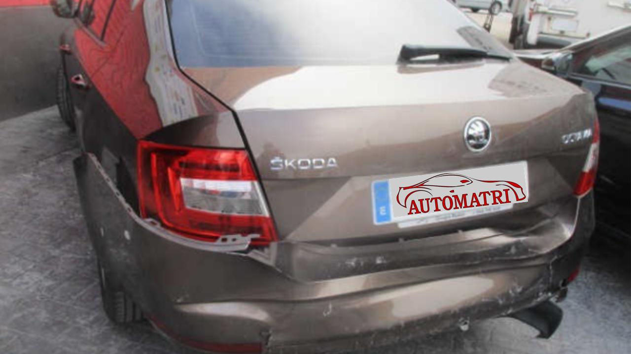 Skoda Octavia antes de pasar por Automatri.